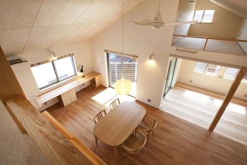 久が原の家: 光風舎1級建築士事務所が手掛けたリビングです。
