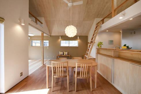 久が原の家: 光風舎1級建築士事務所が手掛けたダイニングです。