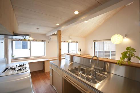 久が原の家: 光風舎1級建築士事務所が手掛けたキッチンです。