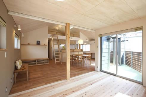久が原の家: 光風舎1級建築士事務所が手掛けた子供部屋です。