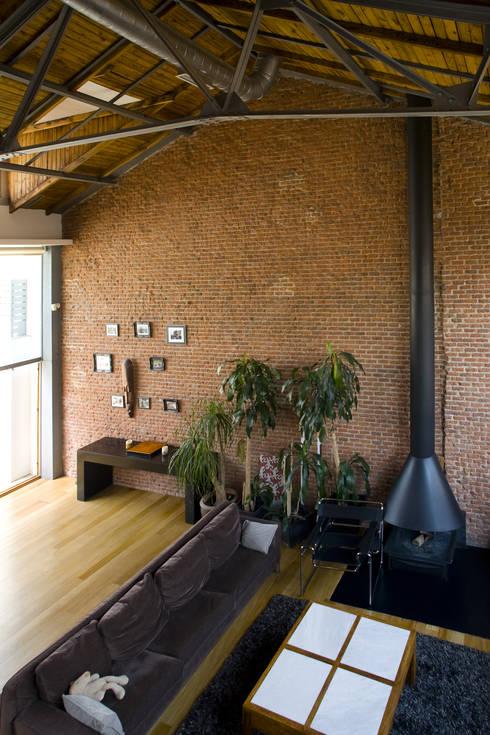 Salas / recibidores de estilo  por Beriot, Bernardini arquitectos