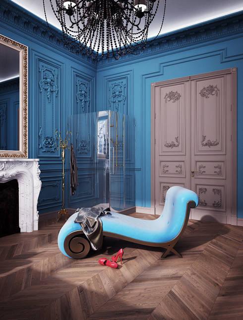 Чувственный барокко: Ванные комнаты в . Автор – VITTA-GROUP
