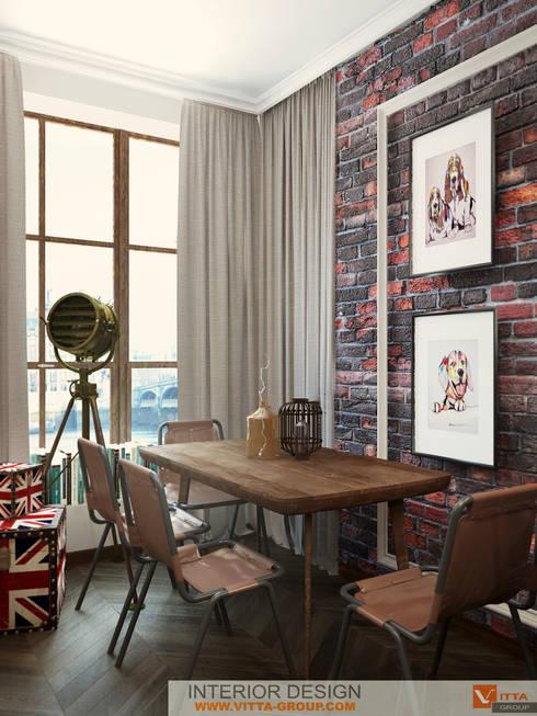 Небо Лондона: Кухни в . Автор – VITTA-GROUP