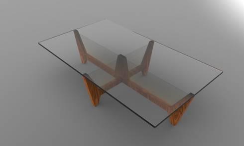mesa de centro:  de estilo  por Armatoste studio