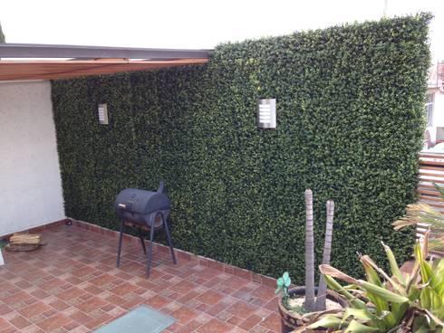 terraza: Casas de estilo topical por Armatoste studio