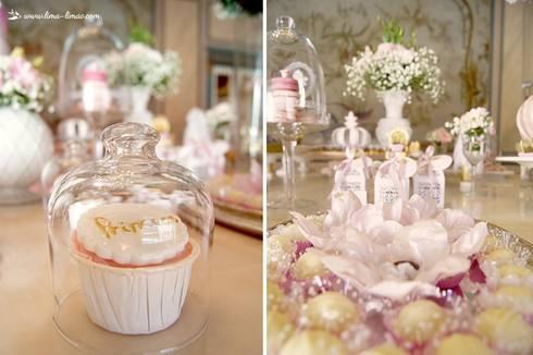 Os cupcakes e os docinhos: Sala de jantar  por Lima Limão-  Festas com charme