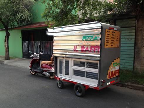food truck: Restaurantes de estilo  por Armatoste studio