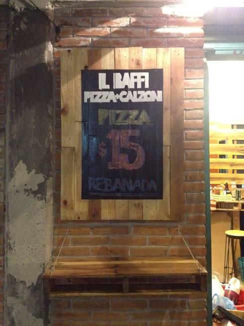 restaurante : Restaurantes de estilo  por Armatoste studio