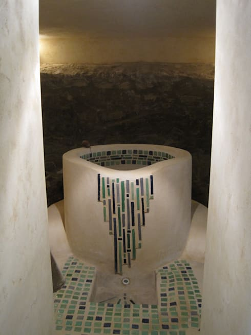 Baños de estilo  por cecile Aubert architecte dplg