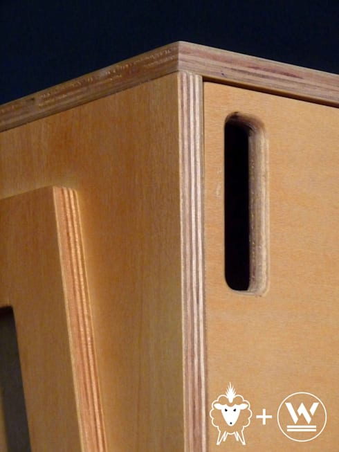 Mueble bajo Louis: Estudio de estilo  por CASA FAD