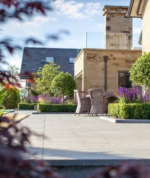 Aussenanlage in Luxemburg:  Garten von Paul Marie Creation