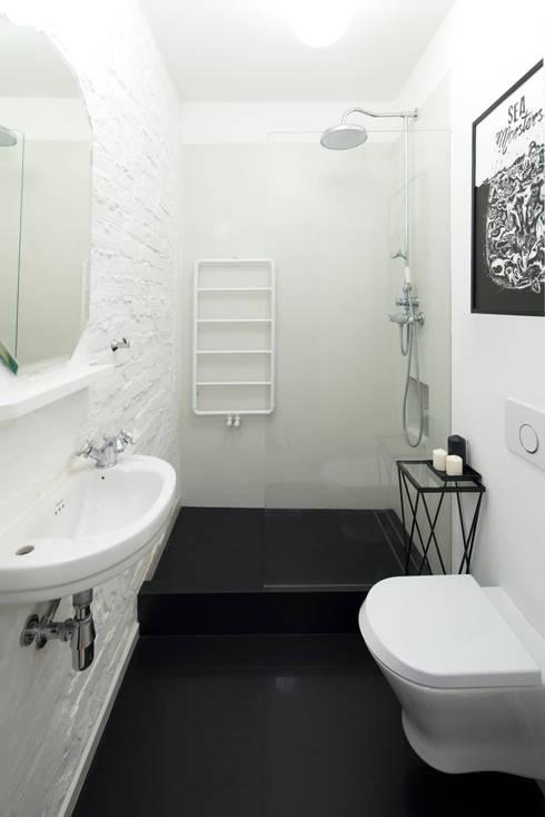 38 m, Plac Zbawiciela, Wwa: styl , w kategorii Łazienka zaprojektowany przez dziurdziaprojekt