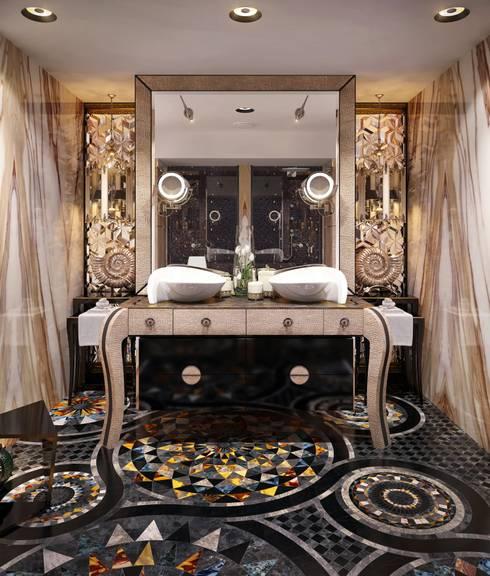 Санузел от Sicis: Ванные комнаты в . Автор – Sweet Home Design
