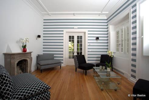 Villa Vasco da Gama | Guest House | Cascais: Salas de estar clássicas por shfa