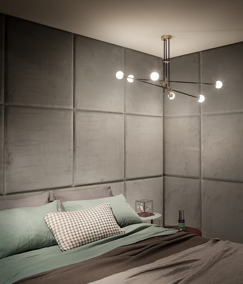 Dormitorios de estilo minimalista de Intuerilight