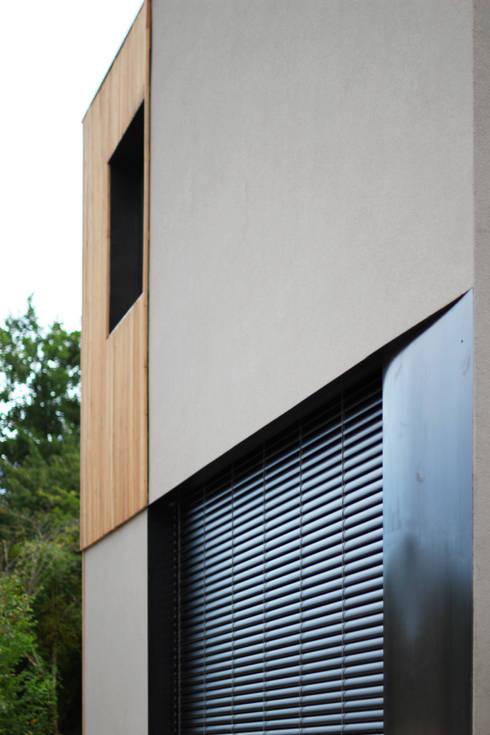 Maison GLT: Maisons de style de style Moderne par BIENSÜR Architecture