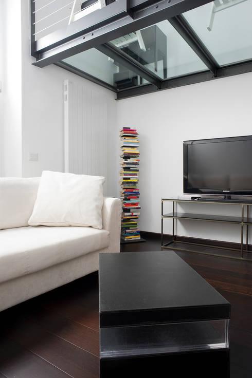 Appartamento bianco e nero a colori di architetto - Pagine a colori in bianco e nero ...