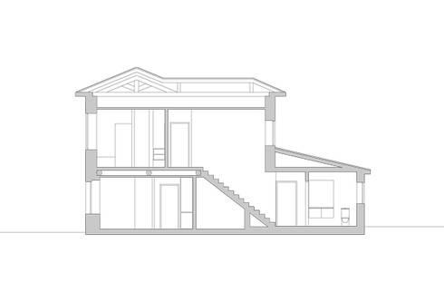 Casa em Lavra, Matosinhos:   por ASVS Arquitectos Associados