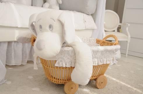 Accesorios para habitaciones infantiles: Habitaciones infantiles de estilo  por Baby Luna