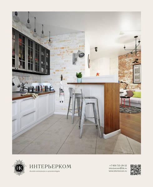 Cocinas de estilo  de ИнтерьерКом / InteriorCom