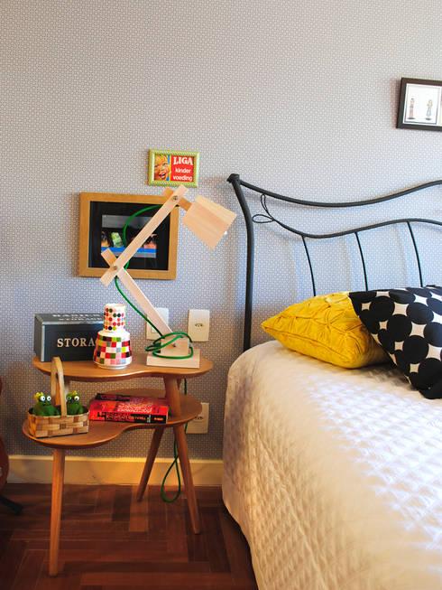 Encantado Flat: Quartos  por Red Studio