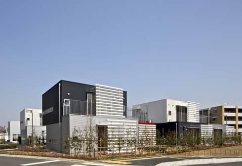 住戸外観: 株式会社ヨシダデザインワークショップが手掛けた家です。