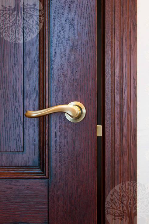 Puertas y ventanas de estilo clásico por Lesomodul