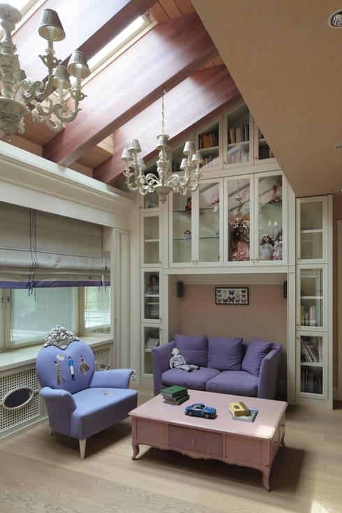 Дом в Горках: Детские комнаты в . Автор – Lighthouse Projects