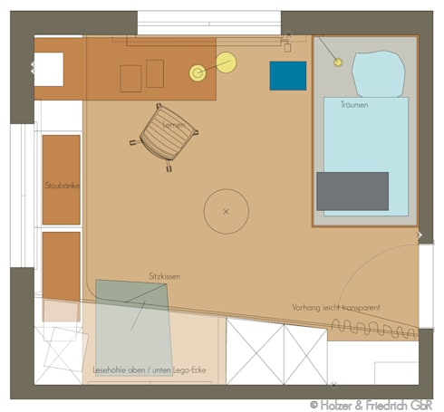 jonas 39 kinderzimmer von holzer friedrich gbr homify. Black Bedroom Furniture Sets. Home Design Ideas