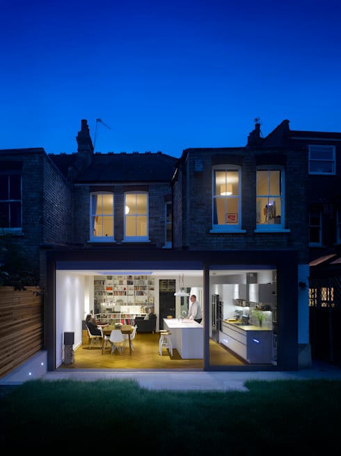 Redston Road:  Houses by Andrew Mulroy Architects