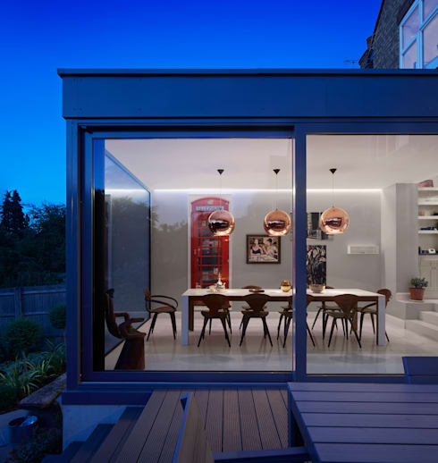 Creighton Avenue: modern Houses by Andrew Mulroy Architects