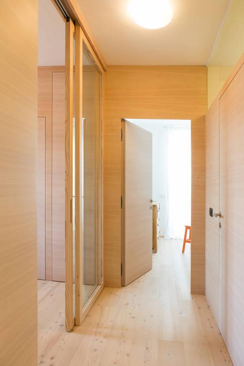 Manuel Benedikter Architekt:  tarz Koridor ve Hol