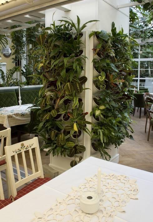 Zielona ściana – prosty montaż, fantastyczny efekt!: styl , w kategorii Ogród zaprojektowany przez Pixel Garden