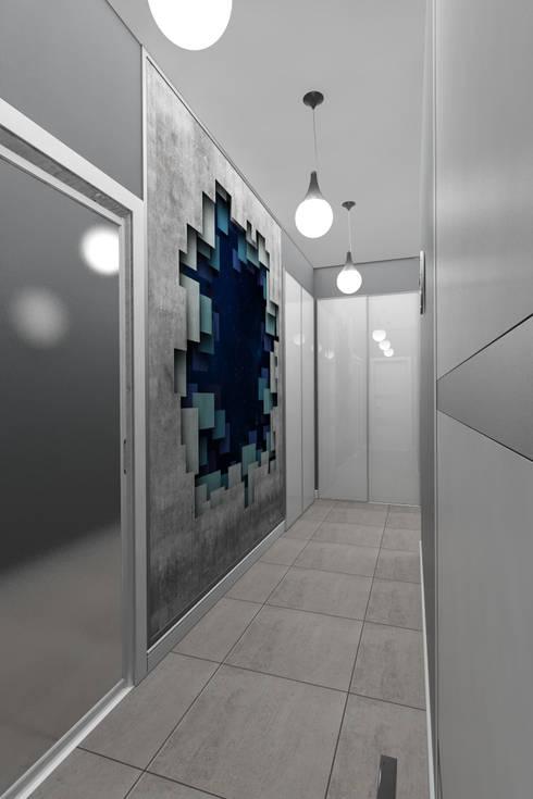 Дизайн-проект квартиры для молодого человека: Коридор и прихожая в . Автор – Студия дизайна и декора Светланы Фрунзе