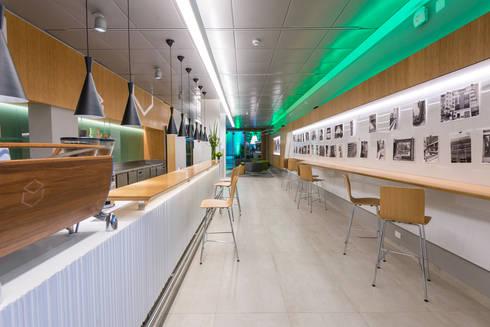 Café | Banco Original: Espaços comerciais  por Christiana Marques Fotografia