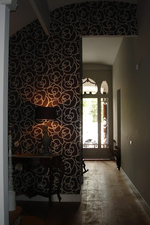 Recibidor  DESPUES:  de estilo  de Imma Carner Arquitectura Interior