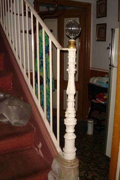 Escalera ANTES:  de estilo  de Imma Carner Arquitectura Interior