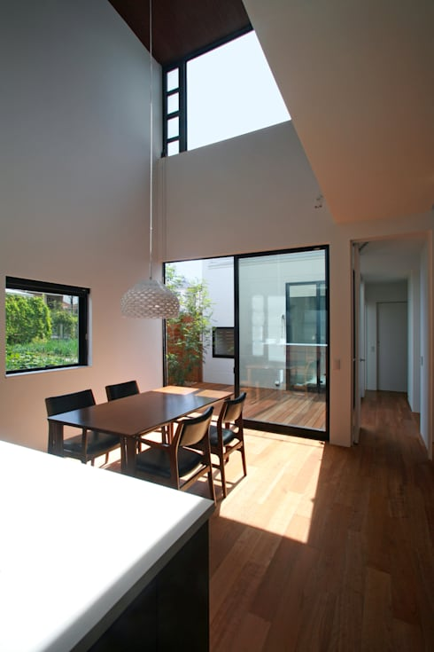 Dining room by 設計事務所アーキプレイス