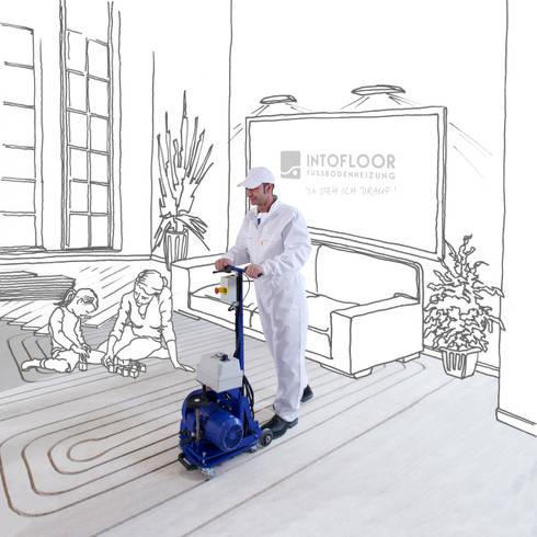 Nachträglicher Einbau Fußbodenheizung so einfach kann der nachträgliche einbau einer fußbodenheizung sein