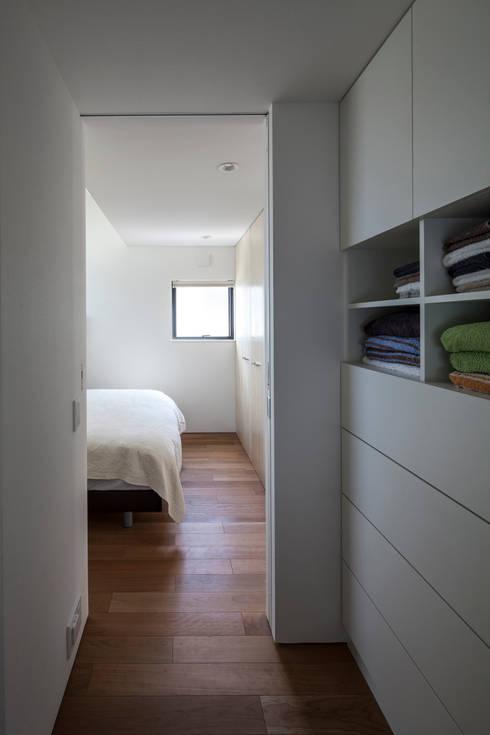 moderne Badkamer door 設計事務所アーキプレイス