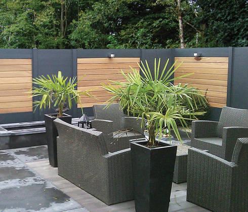 Palissade IdeAL bois composite aluminium par Deck-linéa | homify