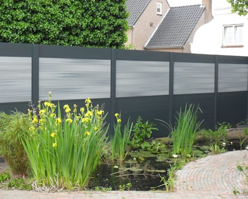 palissade ideal bois composite aluminium de deck lin a homify. Black Bedroom Furniture Sets. Home Design Ideas