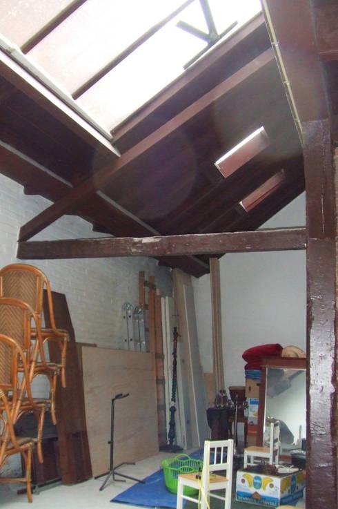 woonkamer bestaand:   door Studio Blanca
