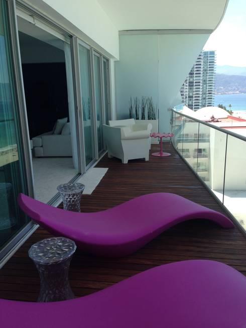 ICON: Terrazas de estilo  por DECO designers
