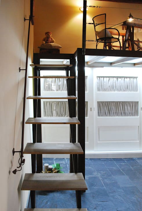 REFORMA DORMITORIO DÚPLEX INDUSTRIAL: Dormitorios de estilo industrial de Vicente Galve Studio