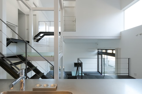 9 FLOORS : 濱田修建築研究所が手掛けたキッチンです。