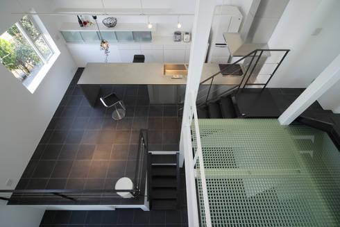 9 FLOORS : 濱田修建築研究所が手掛けたダイニングです。
