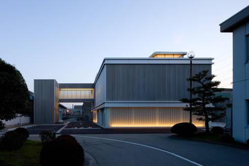 大谷製鉄食堂棟: 濱田修建築研究所が手掛けたダイニングです。