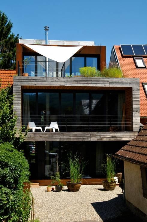 Südansicht:  Häuser von Architekturbüro 011