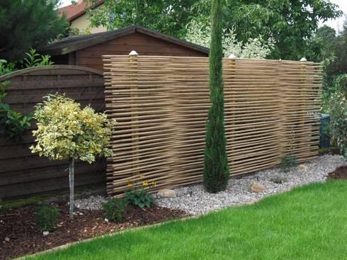 Sichtschutz Aus Bambus Als Gestaltungselement